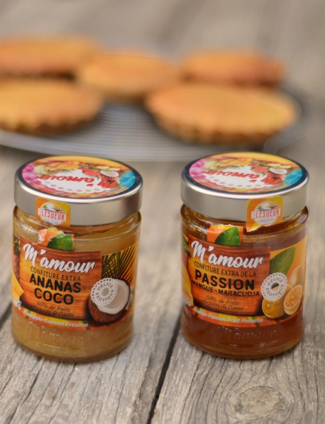 confiture M'amour Guadeloupe