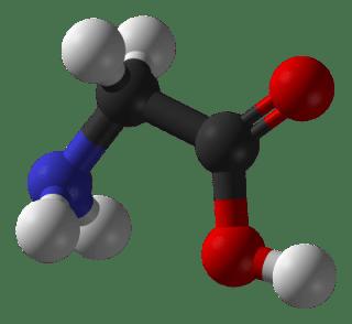 Molécule de Glycine