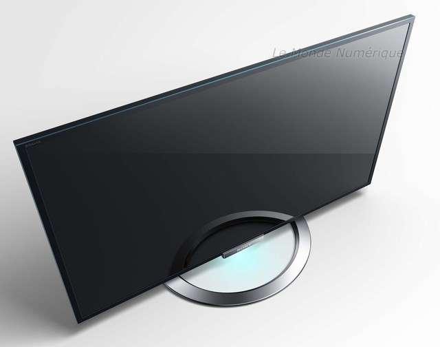 Tv Sony Serie W9 Une Image Eclatante Et Un Son Renforce Le Monde Numerique