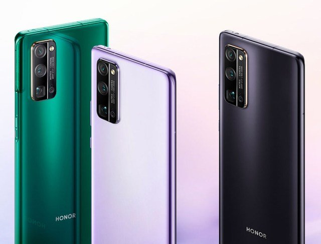 nouveaux smartphones honor 30 honor 30