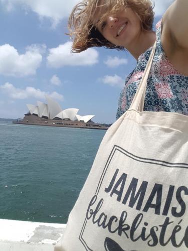 Le tote-bag Mir à Sydney!