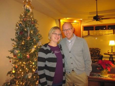 Christmas tree Ginny and Ed