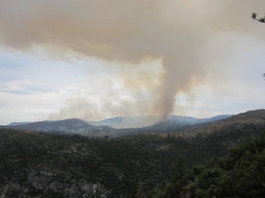 Yosemite fire