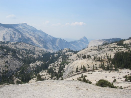 Yosemite view from Tioga Road