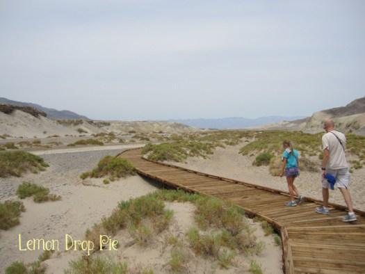 Salt Creek was dry.
