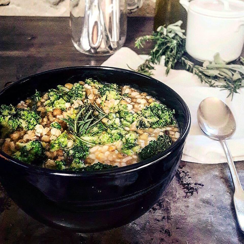 zuppa grano saraceno