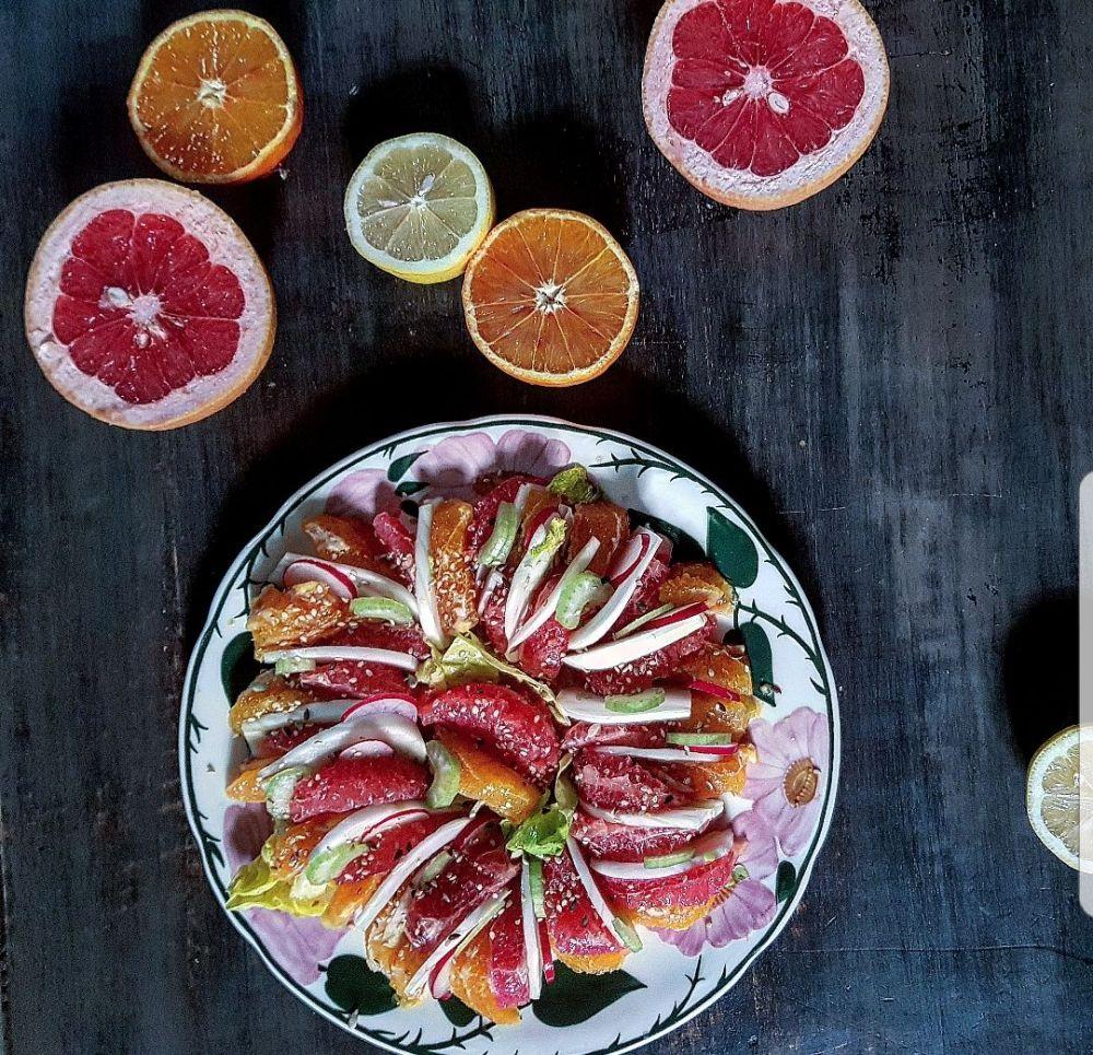 Citrus and fennel salad