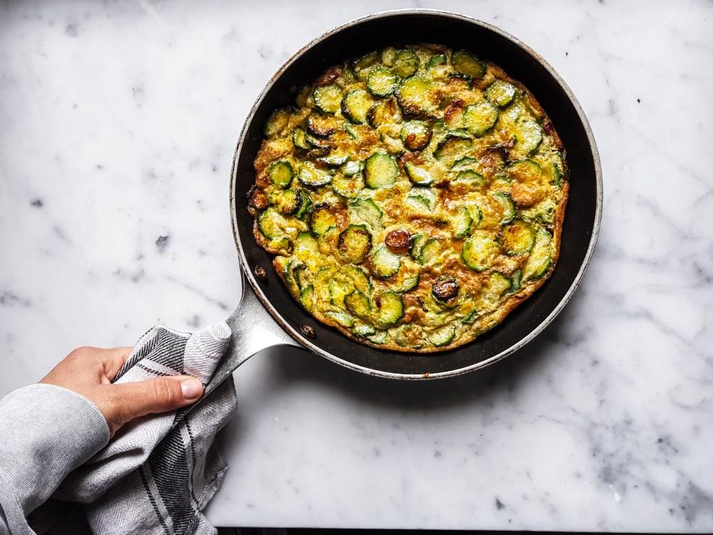 frittata di zucchini