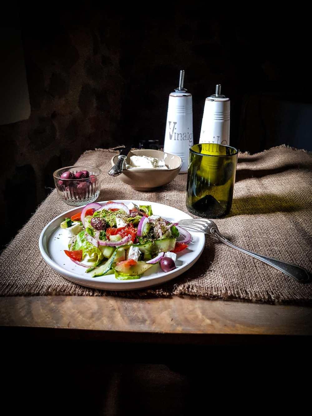 insalata greca, greek salad