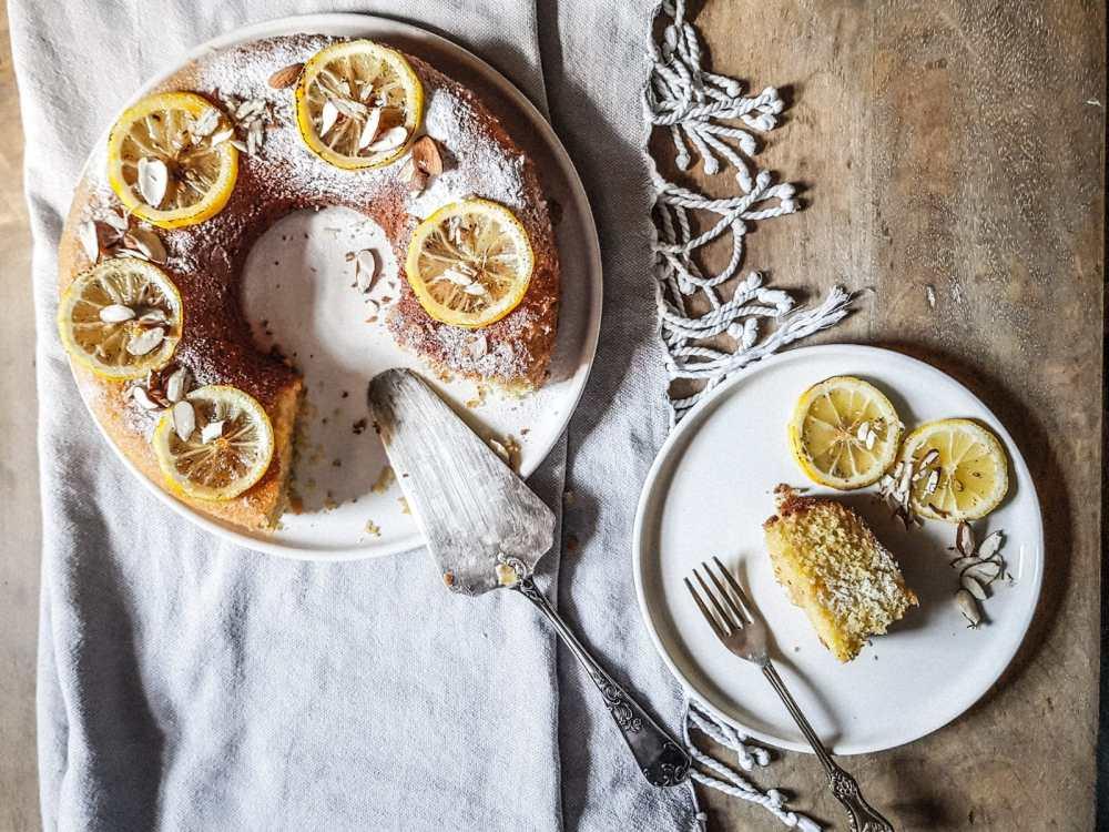 torta limone e mandorle