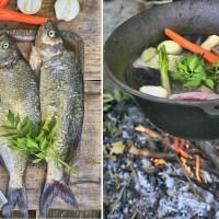Zupa rybna z kociołka z kluseczkami