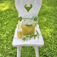 Lemoniada jabłkowo miętowa