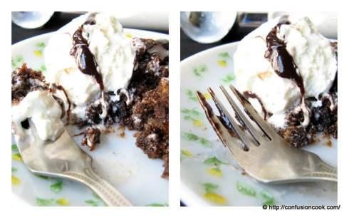 Eggless Moist Applesauce Chocolate Brownie