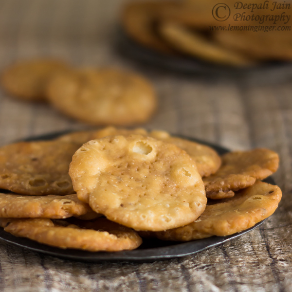 Mathri | Indian Flaky Biscuits