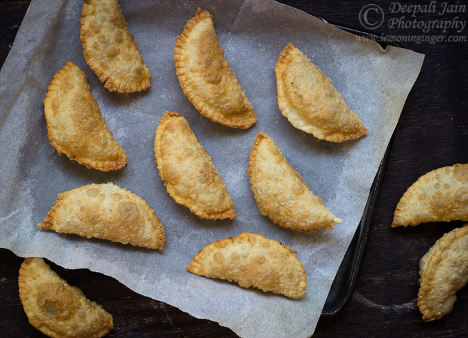 Ghujjia/ Karanji/ Coconut Filled Hand Pies