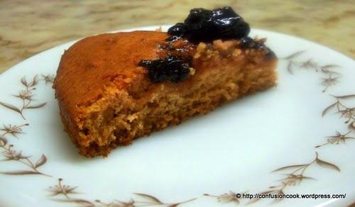Eggless Strawberry Crush Cake with Jam Filling