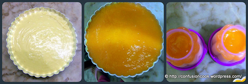 Eggless No-bake Mango Cheesecake