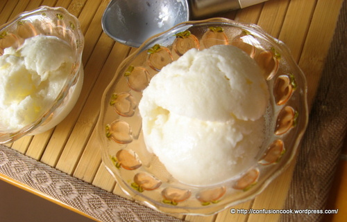 Tender Coconut & Mint Ice-Cream