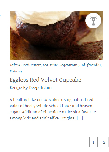 Best Recipe in Take A Beet Contest