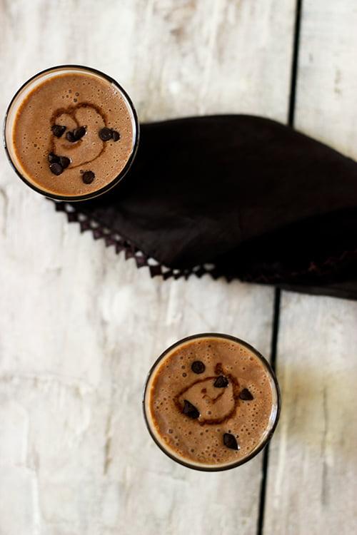 Chocolate Banana Ice Cream Smoothie