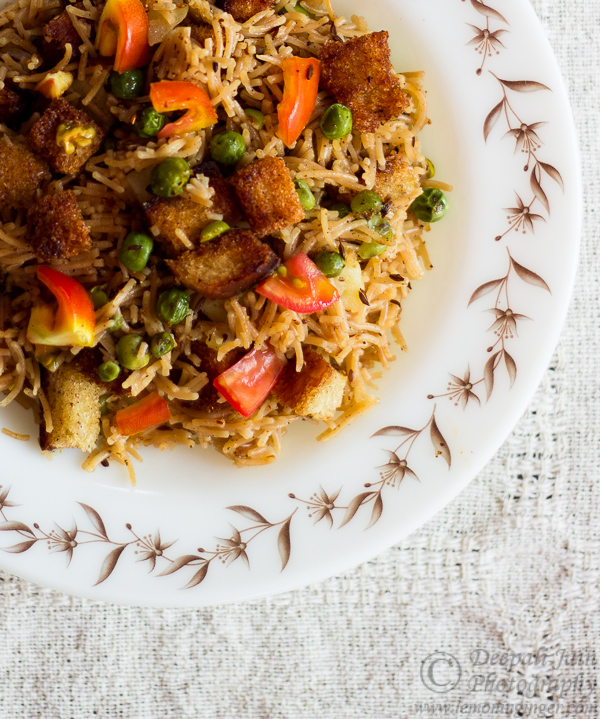 Namkeen Vermicelli with Bread Crumbs | Revisiting Through The Lens Series – 11