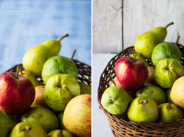 Photostory: Custard Apple & Working with Custom White Balance