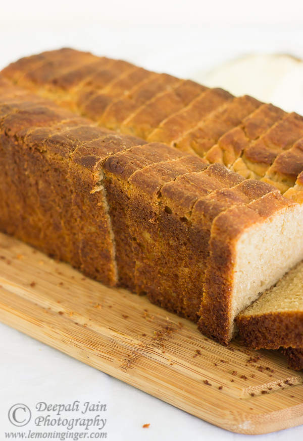Whole Wheat Bread with Ghee and Jaggery