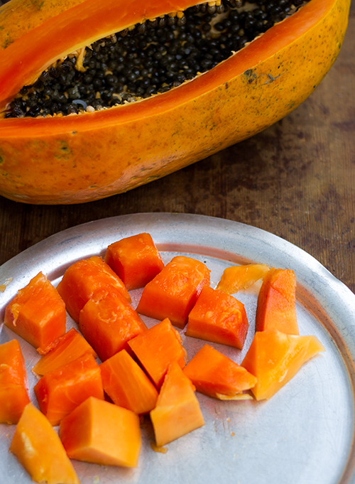 Pea Shells and Papaya | A Photostory