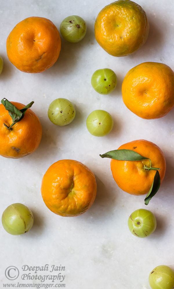 Photostory: Oranges and Gooseberries