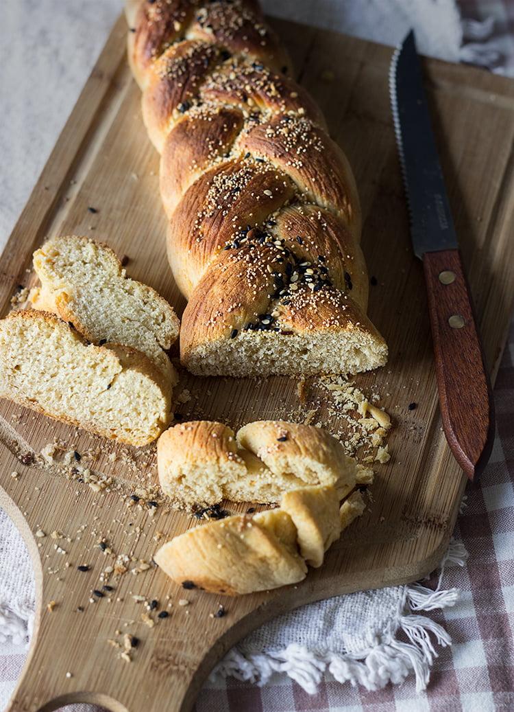 Whole Wheat Challah (Braided Bread)
