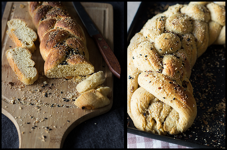 Whole Wheat Challah (Braided Bread)
