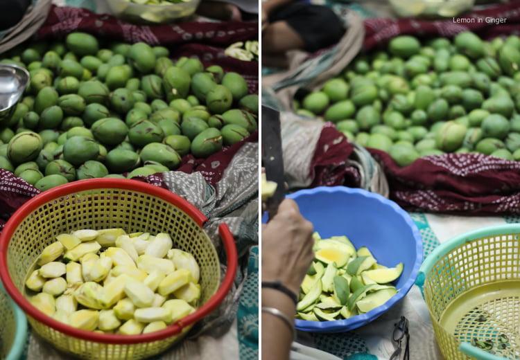 Raw Mango Preserve