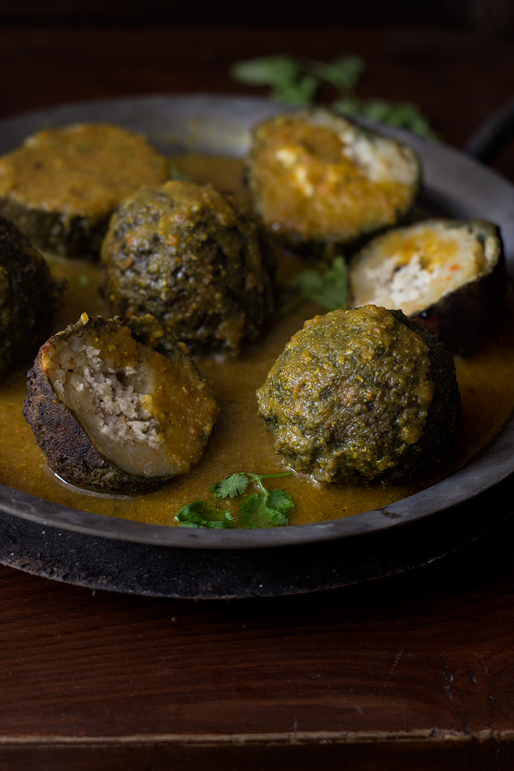 Spinach Cheese Kofta Curry