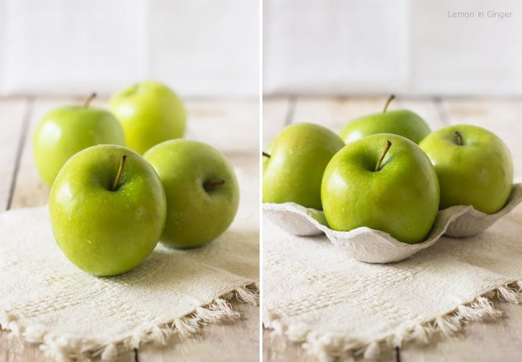 Toffee Apple Upside-Down Cake