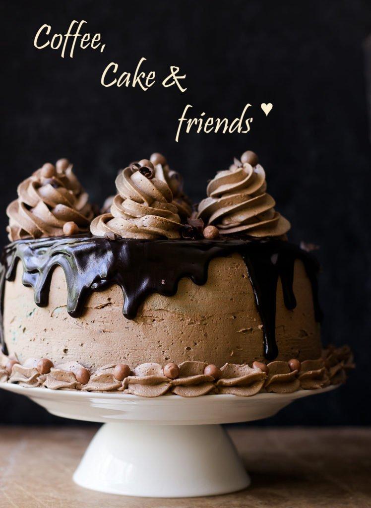 Coffee Whiskey Cake