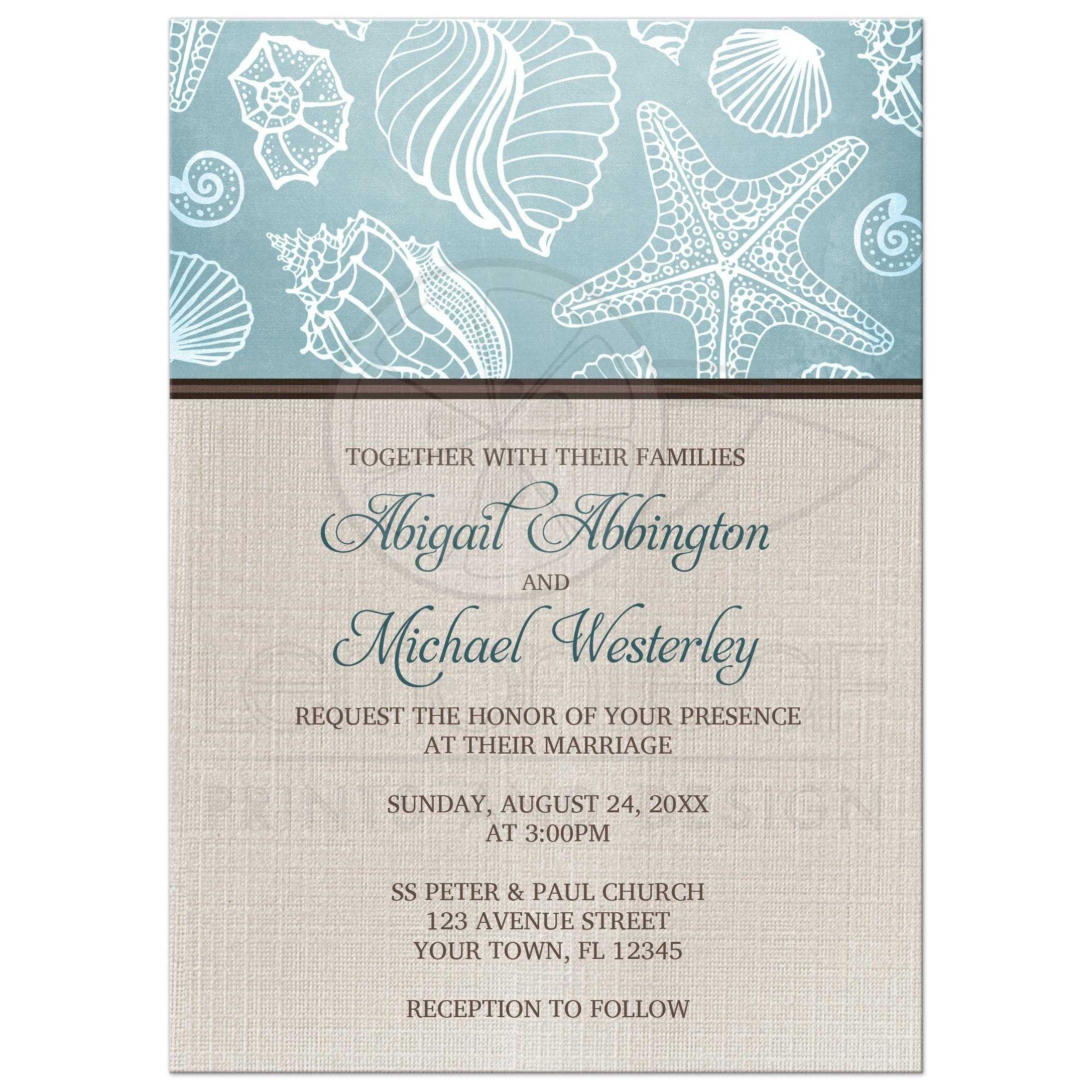 Rustic Themed Bridal Shower Invitations