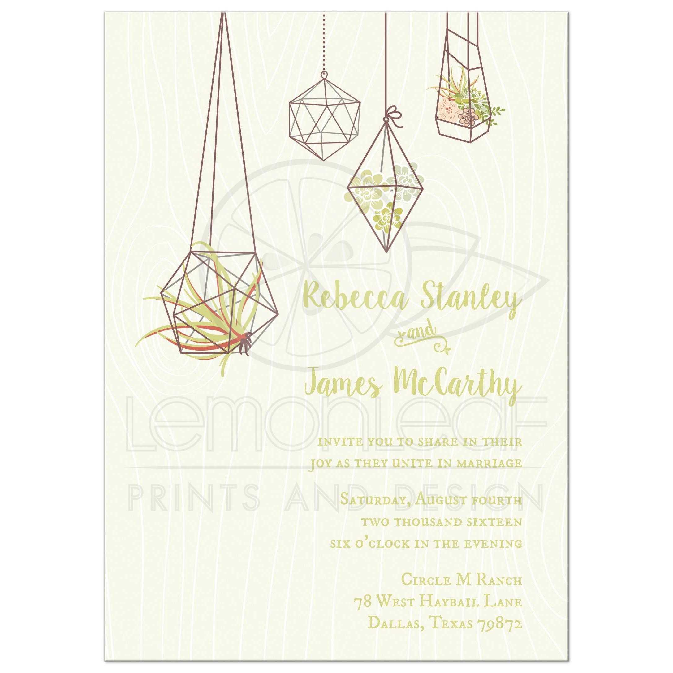 Autumn Wedding Invitations