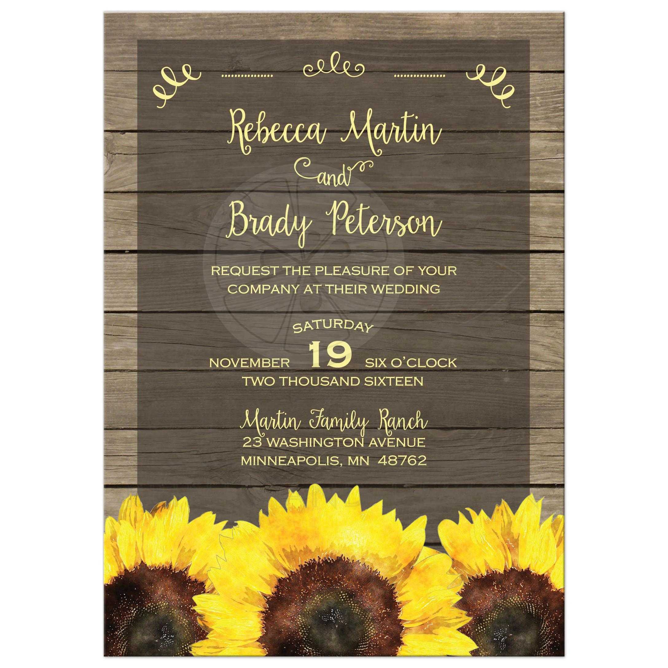 Brown And Lace Wedding Invitations