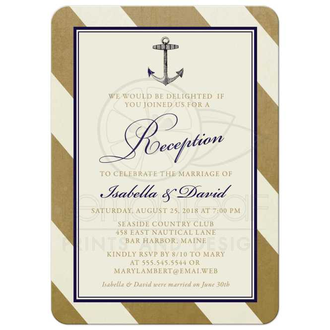 Reception Only Wedding Invitations Is Best Idea Which Can Be Applied For Invitation 9