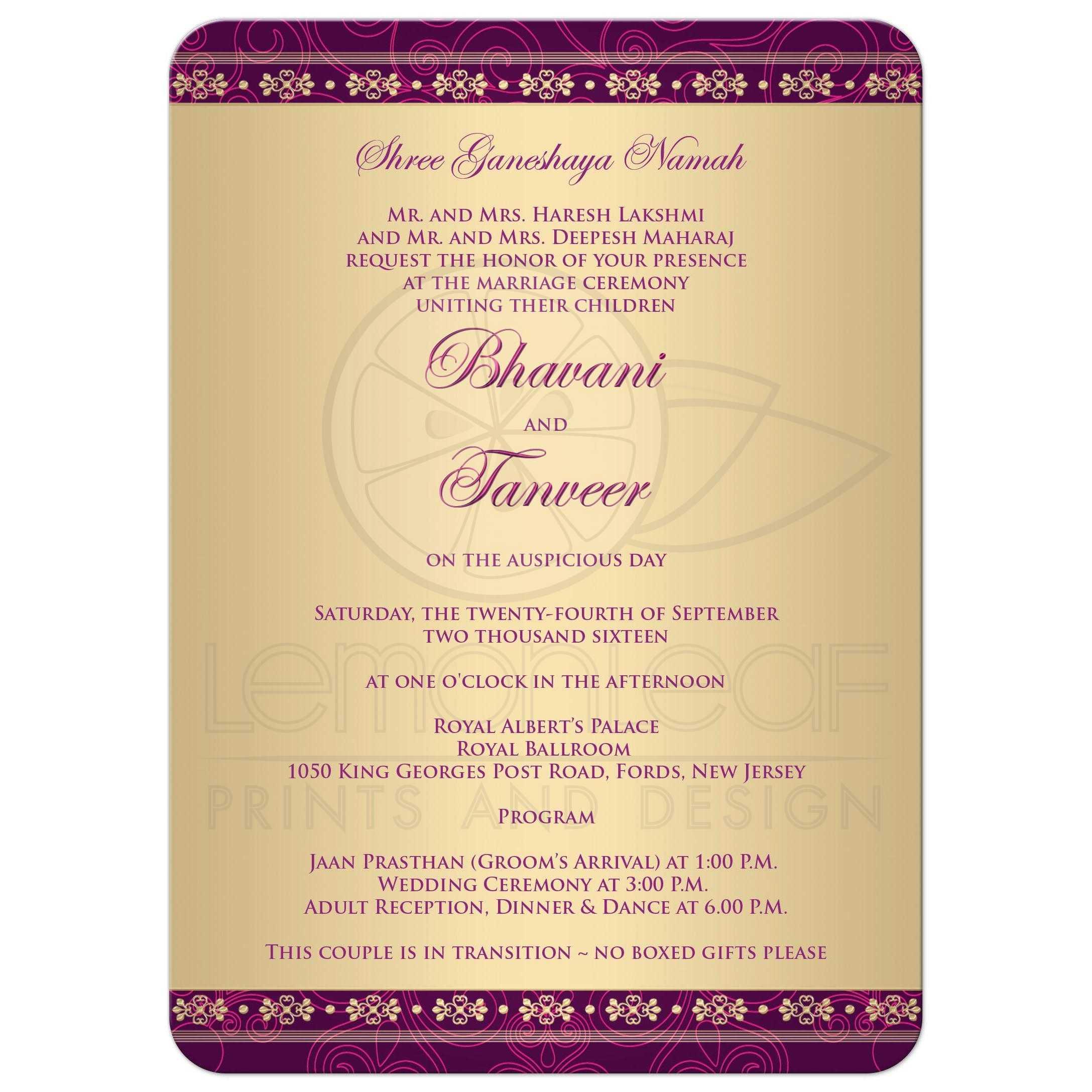 Formal Baptism Invitations