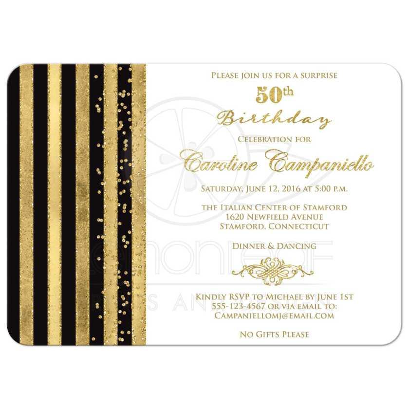 Surprise 50th Birthday Party Invitation Wording Vertabox