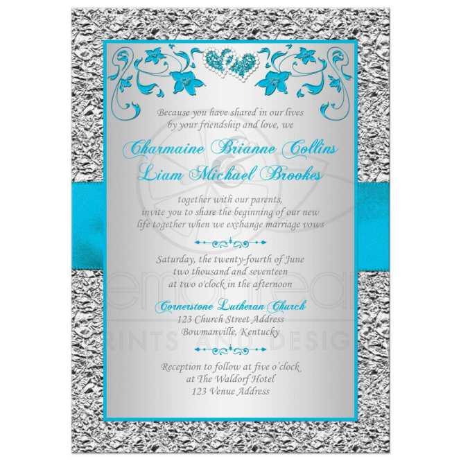 Double Wedding Invitations Wording Invitation Ideas