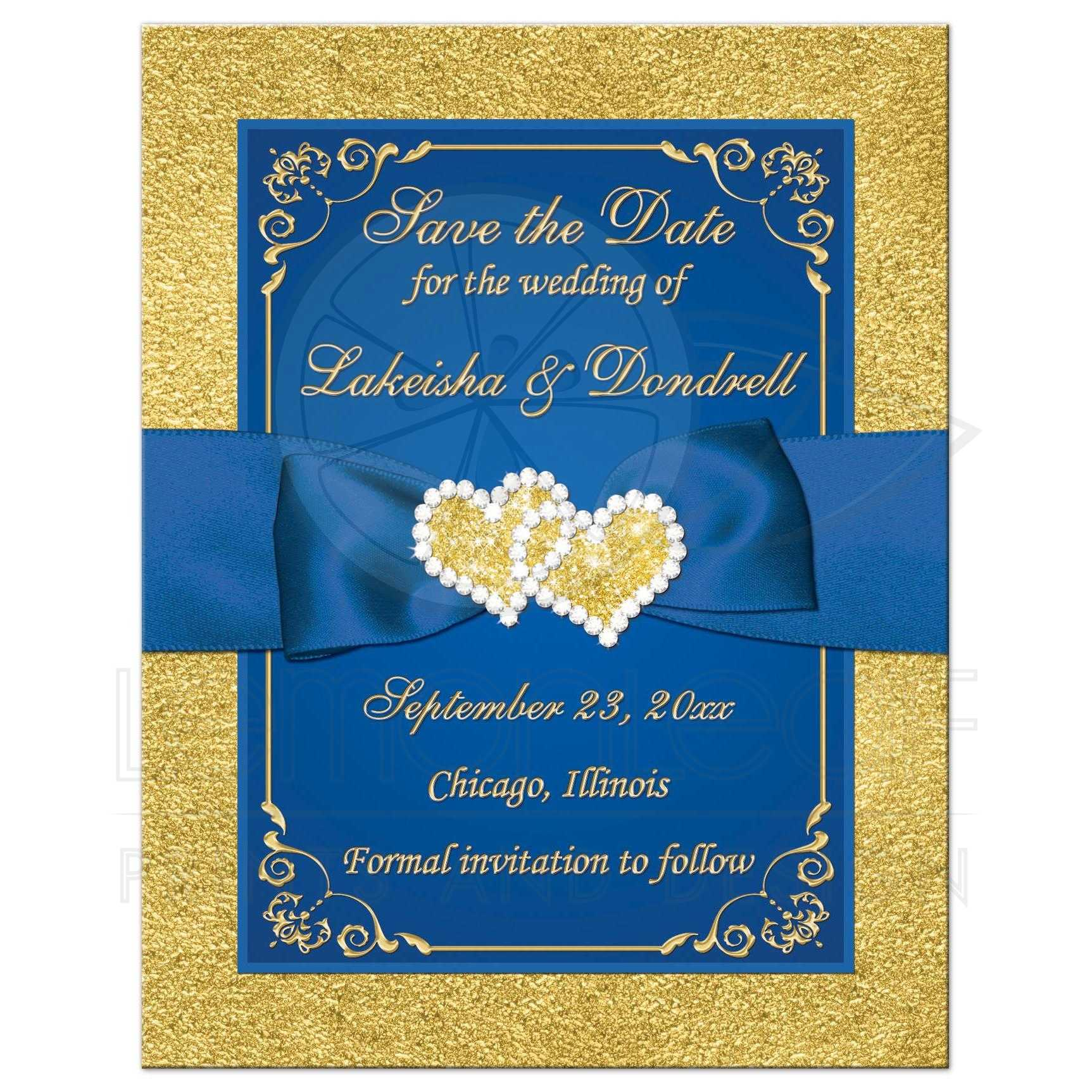 Marriage Save Date Cards
