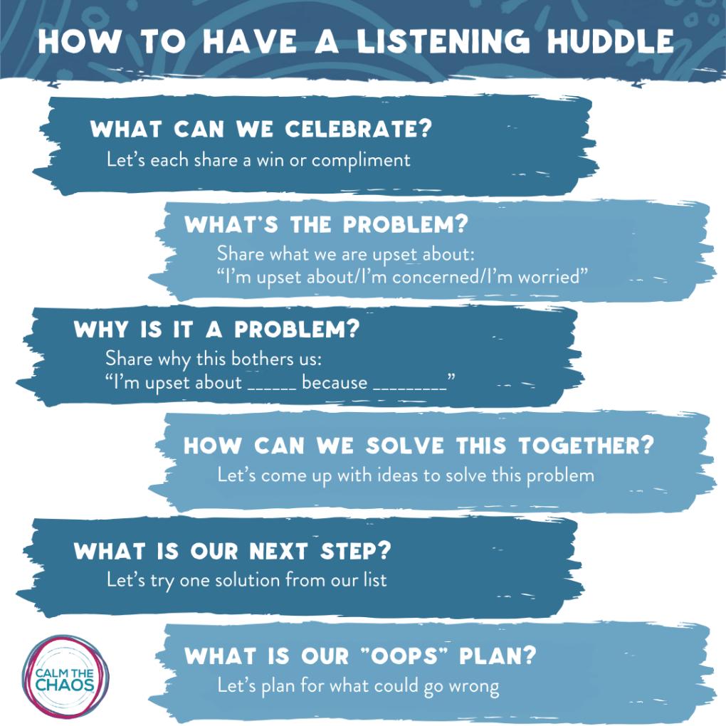 Listening Huddle _ Oops Plan