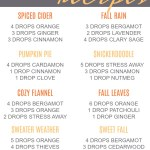 Amazing Fall Diffuser Recipes Lemon Peony