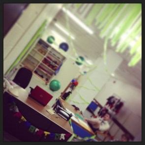 Decorated Craig's Office :)