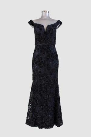 renta-de-vestidos-puebla-azul-con-negro