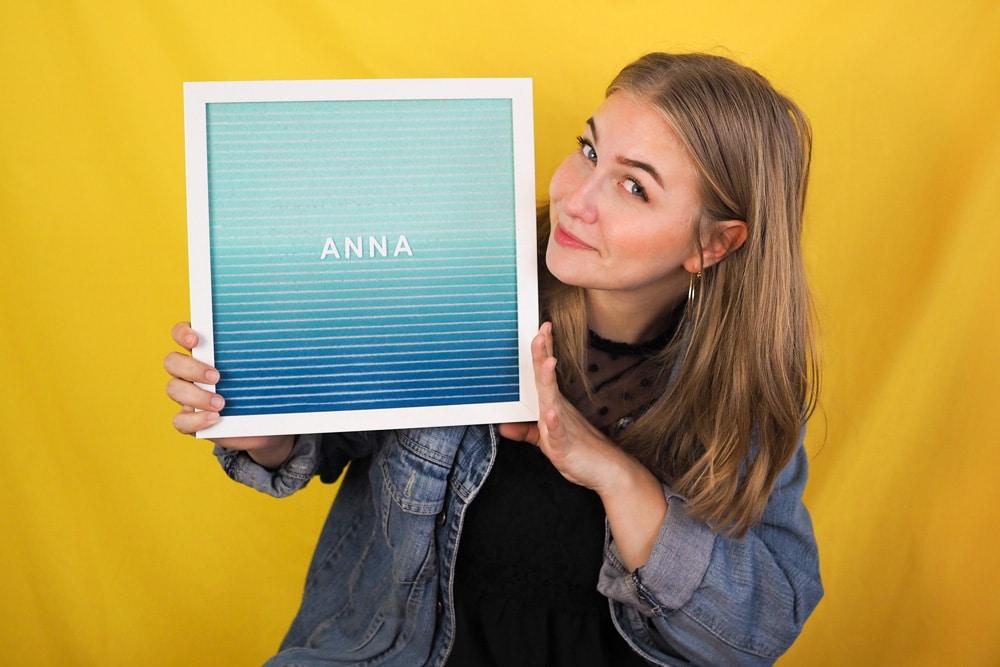 Über uns Profilbild Anna