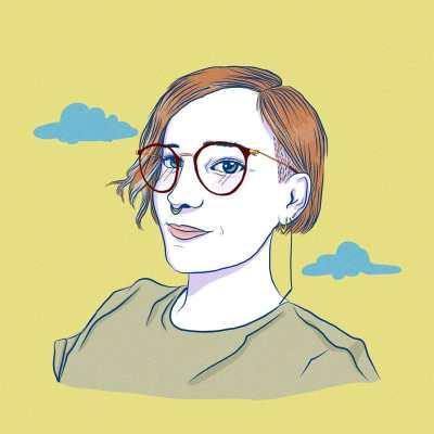 Illustration von einer jungen Frau mit kurzen roten Haaren, Brille und Nasenpiercing. Aus dem Artikel: Wir fordern, dass der Frauentag 365 Tage im Jahr ist.