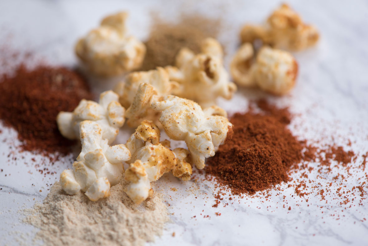 Vegan Cheese Popcorn